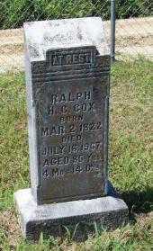 Ralph H. C. Cox