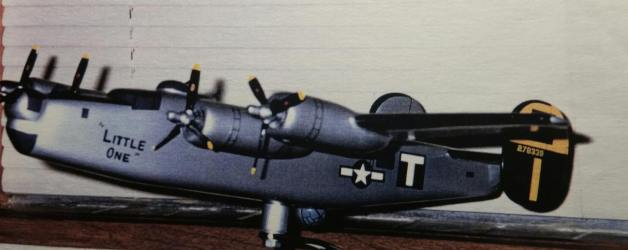 B-24 WWII Little One Model