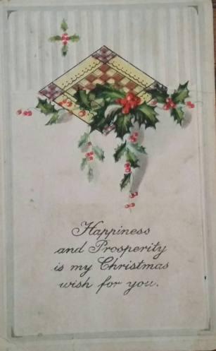 1916 Christmas card