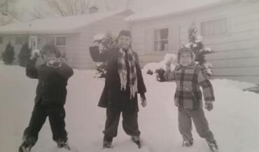weik kids in illinois feb. 1960