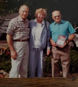 John and Dorothy Rucigay and Merle Weik