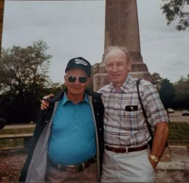 Merle Weik and John Rucigay