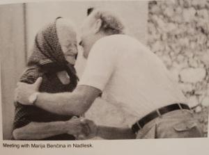 Rucigay meeting Marija Bencina in Nadlesk